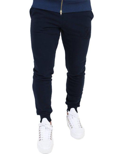 Sik Silk - Blue Standard Sweat Pants Jogger Bottoms for Men - Lyst