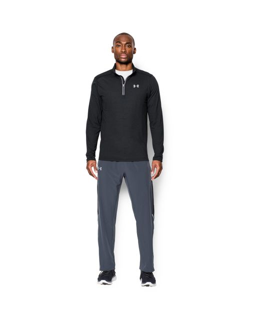 Under Armour - Black Men's Ua Streaker 1⁄4 Zip for Men - Lyst