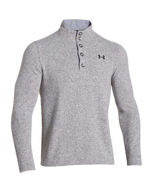 Under Armour | Gray Cgi 1/4 Zip Performance Sweatshirt for Men | Lyst