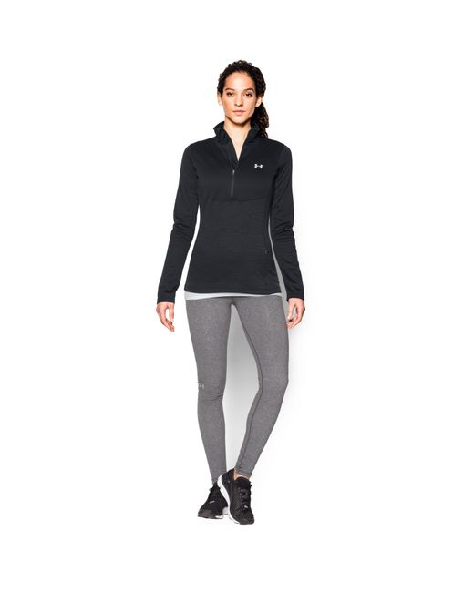Under Armour | Black Women's Ua Gamutlite 1/2 Zip | Lyst