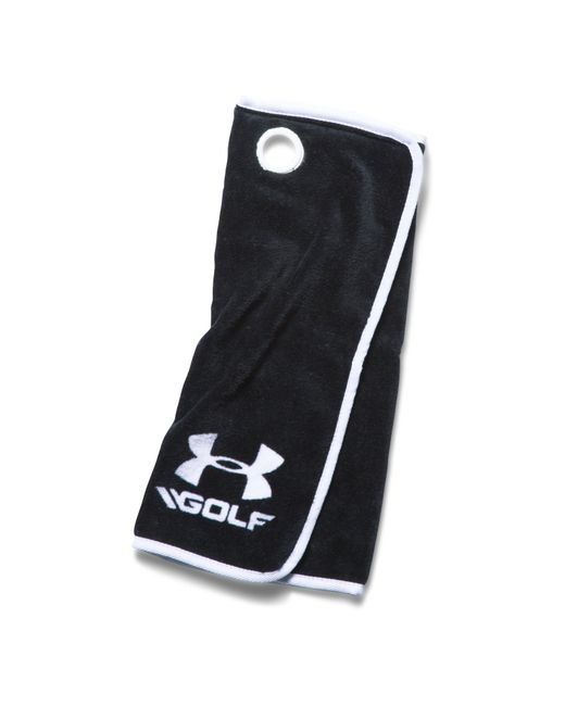 Under Armour | Black Ua Golf Towel for Men | Lyst