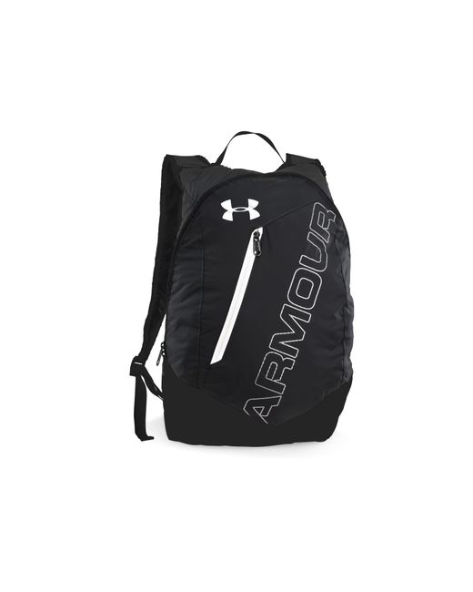 Under Armour | Black Ua Packable Backpack for Men | Lyst