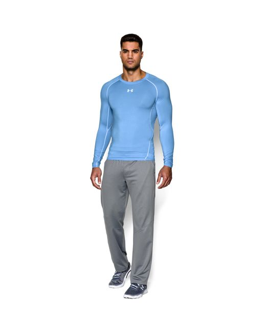 Under Armour - Blue Men's Ua Heatgear® Armour Long Sleeve Compression Shirt for Men - Lyst