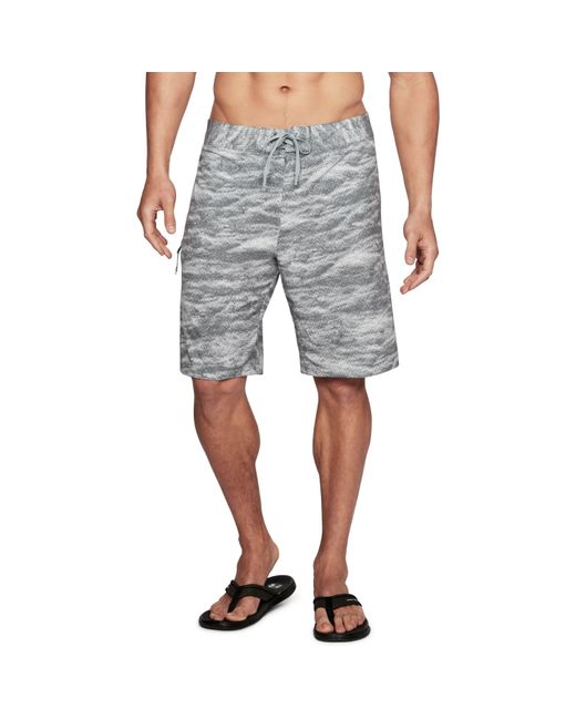 Under Armour - Gray Men's Ua Stretch Printed Boardshorts for Men - Lyst