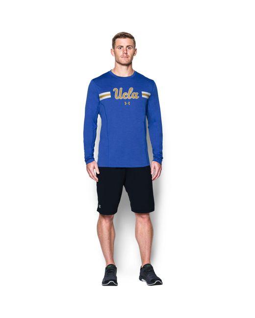 Under Armour - Blue Men's Ucla Ua Training Long Sleeve T-shirt for Men - Lyst