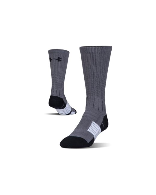 Under Armour - Black Men's Ua Unrivaled Crew Socks for Men - Lyst