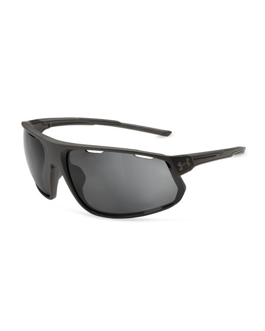 Under Armour - Gray Men's Ua Strive Polarized Mirror Sunglasses for Men - Lyst