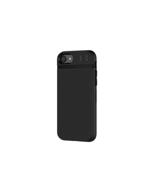 under armour iphone case. under armour | black ua protect stash case for iphone 8/7/6/