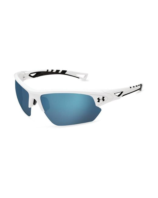 390a4f2eba1 Lyst - Under Armour Adult Ua Octane Baseball Sunglasses in Blue for Men