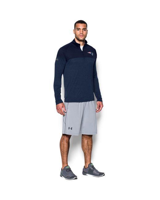 Under Armour - Blue Men's Nfl Combine Authentic Ua Techtm Twist 1⁄4 Zip Long Sleeve Shirt for Men - Lyst