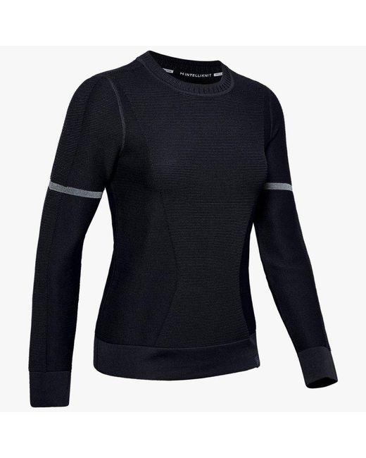 Under Armour Black Damen Pullover UA IntelliKnit Schwarz XS