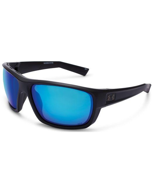 fa7d107a4d Under Armour - Blue Ua Launch Storm Polarized Sunglasses for Men - Lyst ...