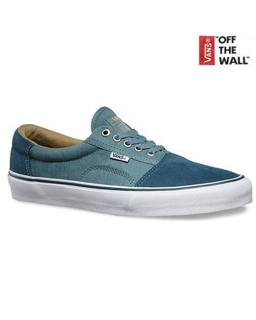 bb081c4675 Vans Rowley Solo in Blue for Men