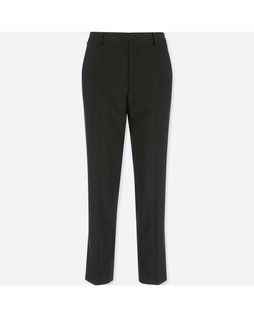 Uniqlo - Black Women Ezy Ankle-length Pants - Lyst