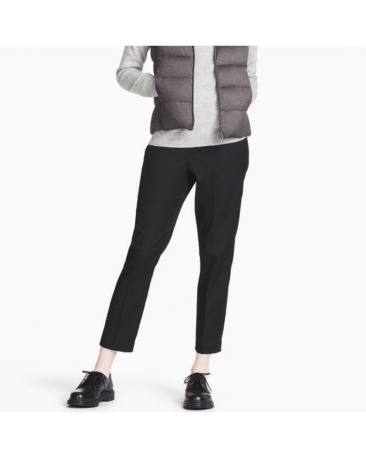 Uniqlo | Black Women Smart Style Ankle-length Pants | Lyst