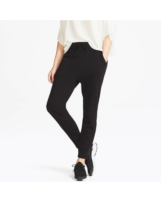 Uniqlo | Black Women Sweat Pants | Lyst