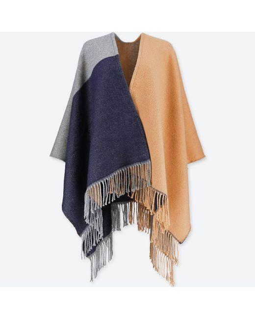 Uniqlo | Natural Women Colorblock 2-way Stole | Lyst