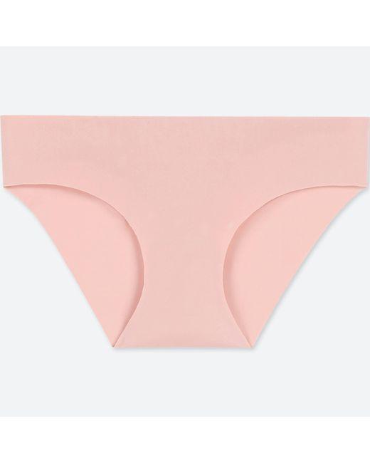 Uniqlo - Pink Women Airism Ultra Seamless Bikini Shorts - Lyst