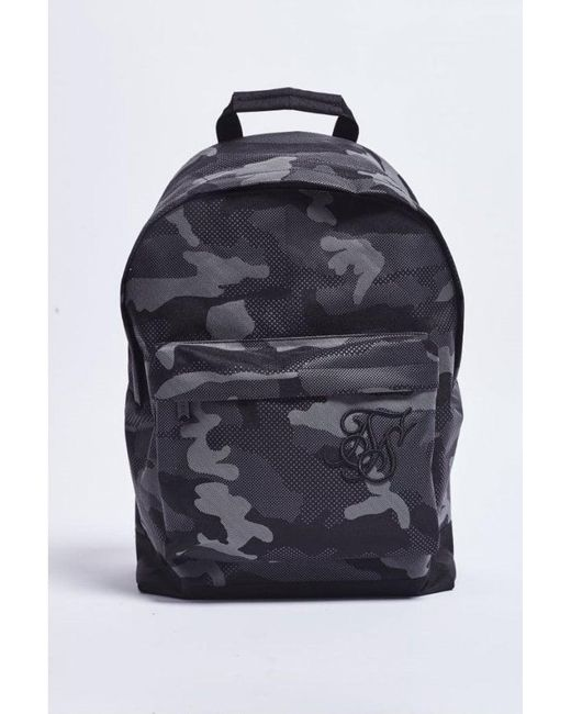 Siksilk - Black Pouch Backpack for Men - Lyst ... 737ccca85a4bf