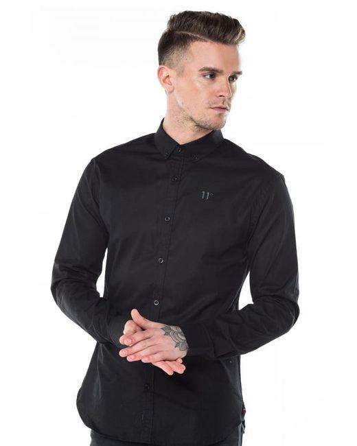 11 Degrees | Black Long Sleeve Shirt for Men | Lyst