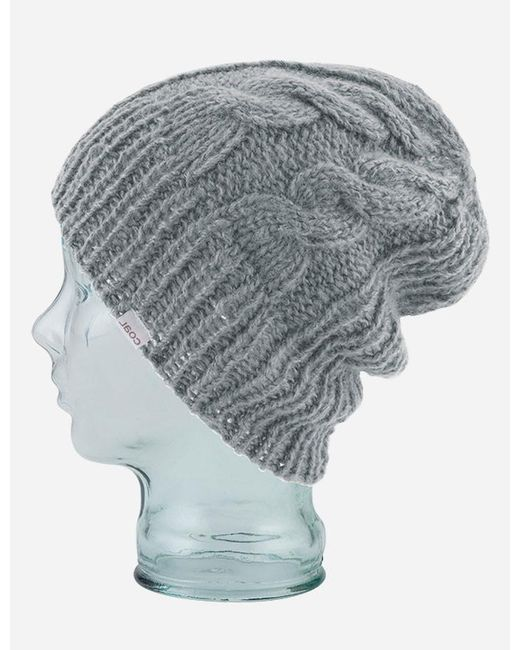 Coal - Gray Parks Cable Beanie Hat for Men - Lyst