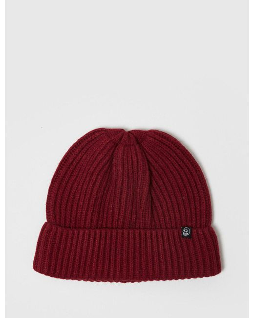 e1ca71923fe Cheap Monday - Red Alan Beanie Hat for Men - Lyst ...