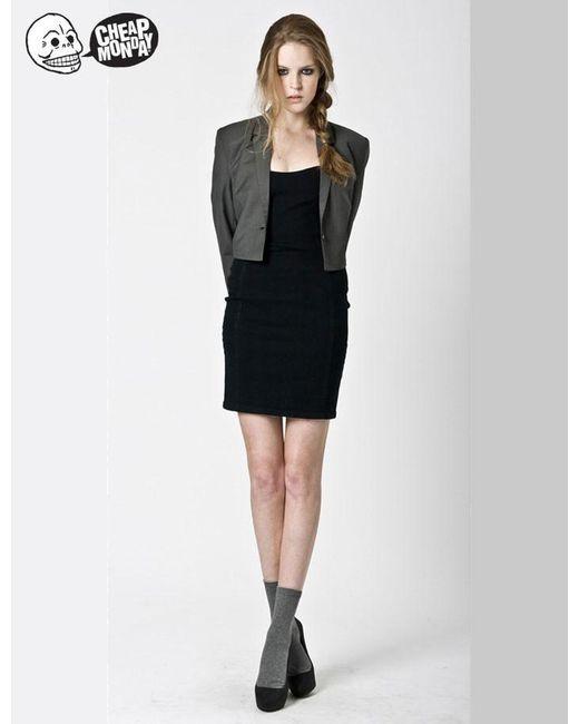 Cheap Monday - Black Womens Asta Dress - Lyst