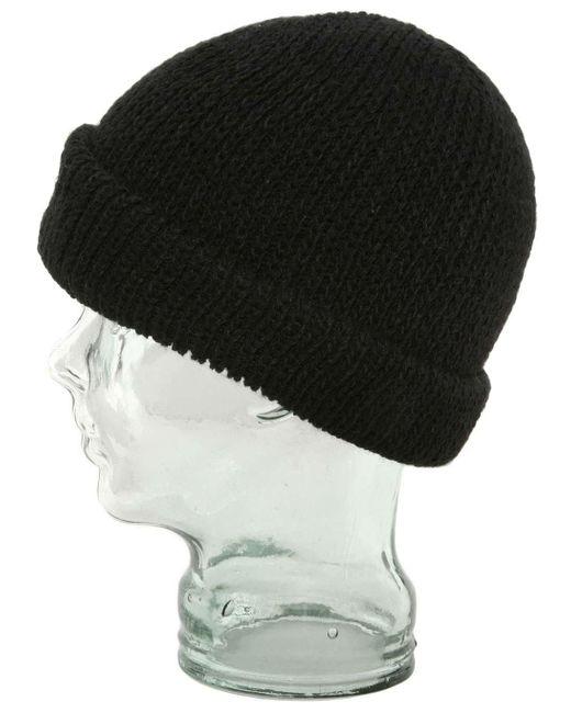 Ignite Beanies - Black Apb Dock Worker Roll Cuffed Beanie Hat for Men - Lyst