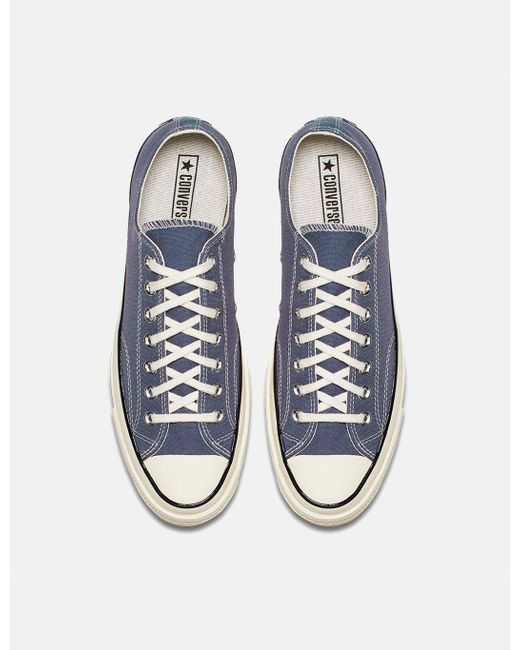e242860196cbab ... Lyst Converse - Gray 70 s Chuck Low 159625c (canvas) for Men ...