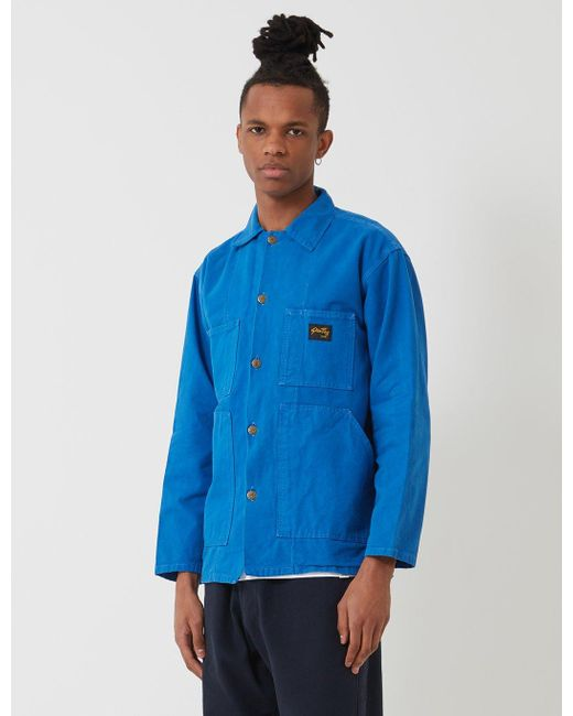 Stan Ray Blue Shop Jacket for men