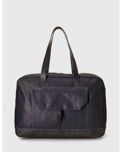Ally Capellino | Black Dave Weekend Bag for Men | Lyst