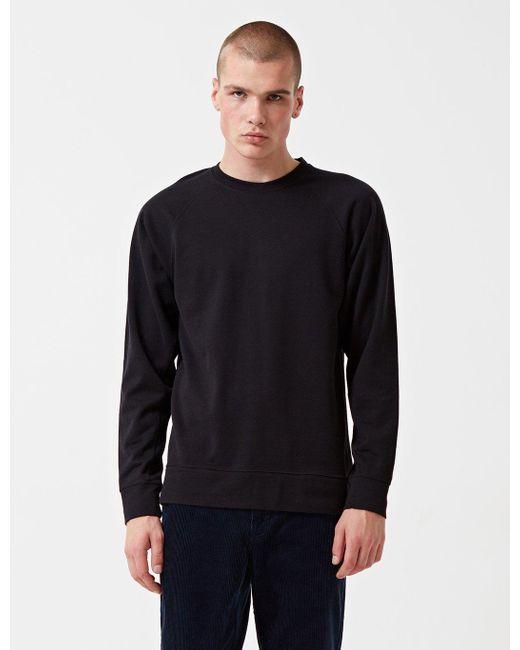Norse Projects - Black Vorm Sweatshirt for Men - Lyst