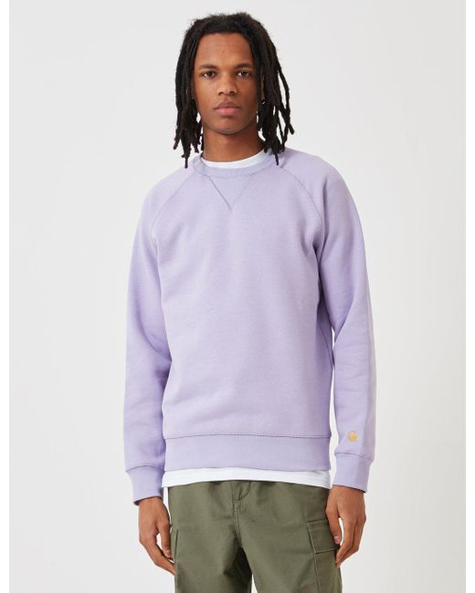 cheapest price details for big discount Men's Purple -wip Chase Sweatshirt