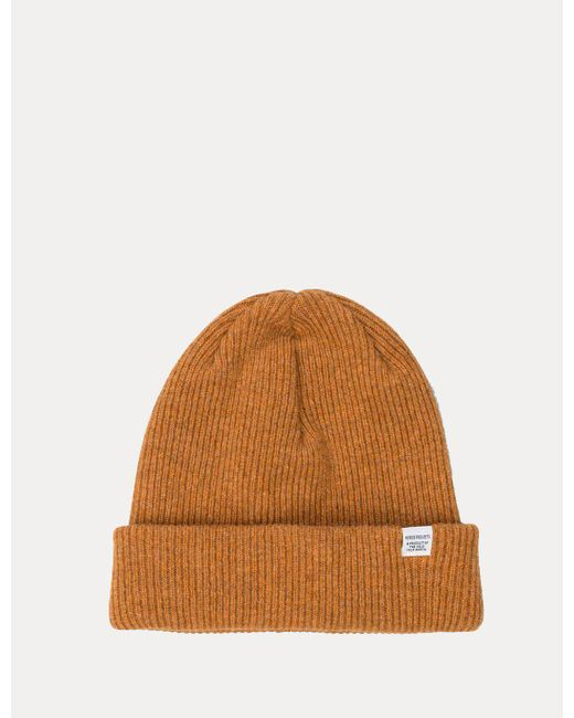 Norse Projects - Yellow Norse Beanie Hat for Men - Lyst