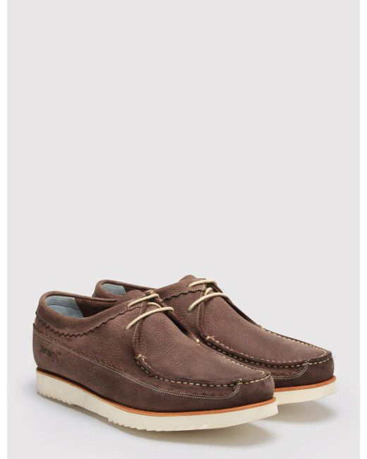 GRENSON | Brown Owen Moccasins | Lyst