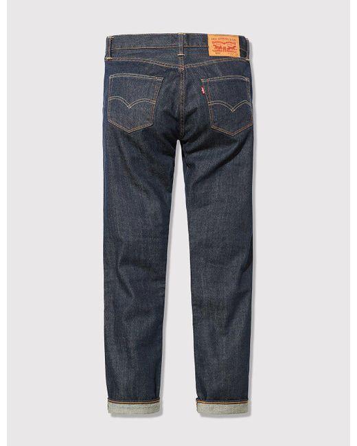 Levi's Blue 501 Jean (regular) for men