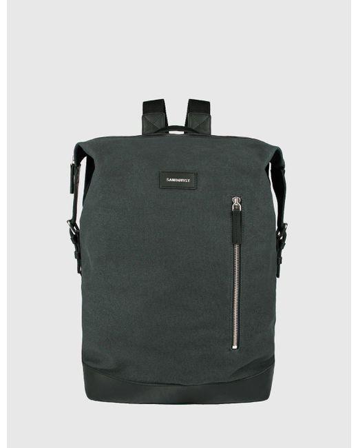 Sandqvist - Green Adam Backpack (canvas) for Men - Lyst