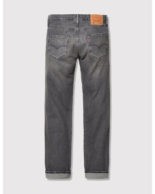 Levi's - Gray 501 Original Fit Jeans for Men - Lyst