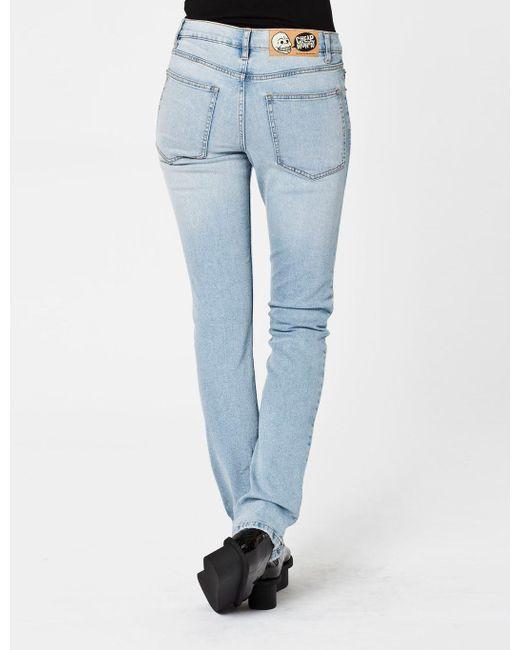 28af79ec6de Cheap Monday - Blue Womens Tight Skinny Jeans for Men - Lyst ...