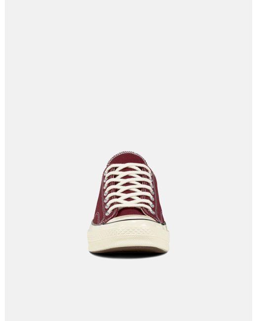 8e9d4788d1b445 Lyst - Converse 70 s Chuck Low 162059c (canvas) in Red for Men - Save 1%