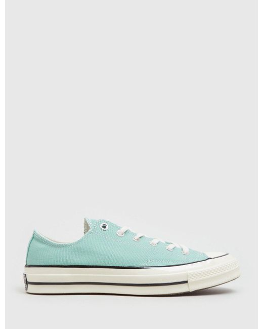 Converse - Green 70 s Chuck Taylor Low (canvas) for Men - Lyst ... cb650180f