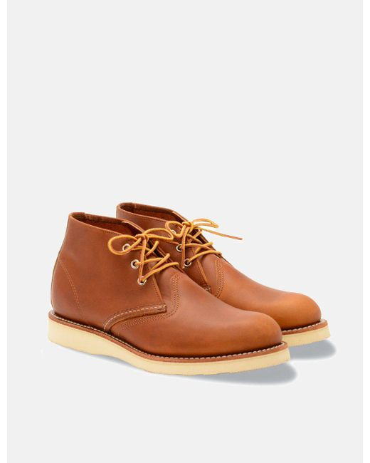 Red Wing - Brown 3140 Heritage Work Chukka for Men - Lyst