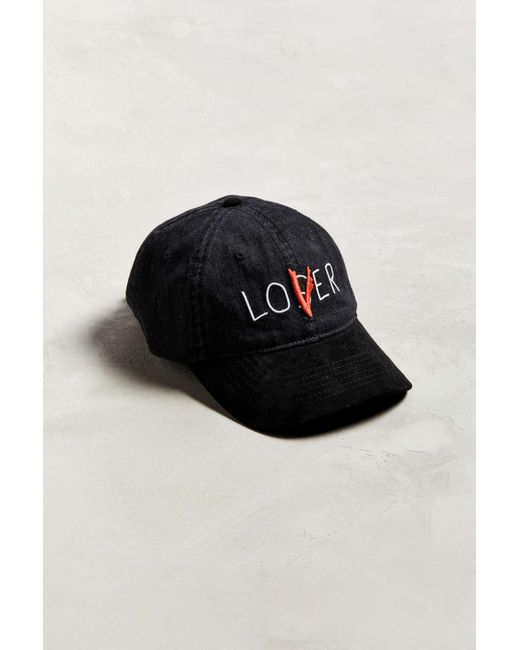 ed67ae3656a56 Urban Outfitters - Black Lover Loser Denim Dad Baseball Hat for Men - Lyst  ...