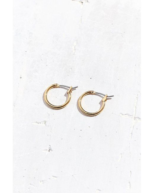 Urban Outfitters - Metallic Modern Hoop Earring - Lyst