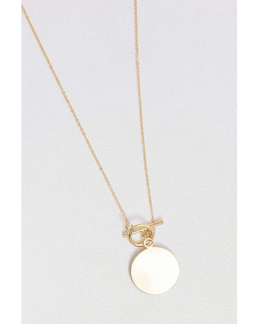 Five And Two - Metallic Jewelry Penelope Gold-plated Toggle Necklace - Womens All - Lyst