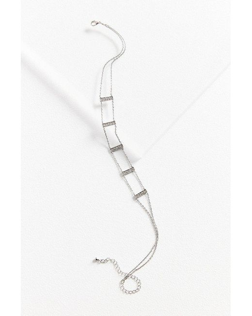 Urban Outfitters   Metallic Melody Station Choker Necklace   Lyst