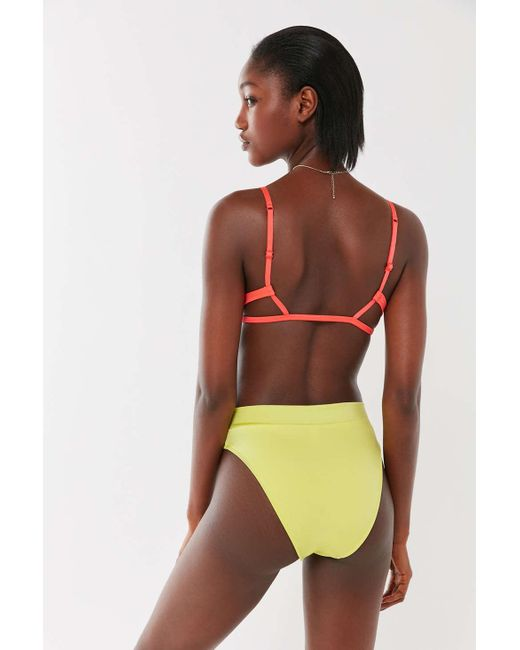 6780e7d897c5d ... Out From Under - Multicolor Shimmer Harley Triangle Bikini Top - Lyst  ...