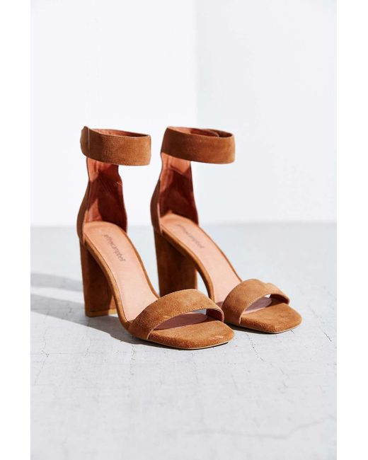 Jeffrey Campbell | Brown Holvey Suede Heel | Lyst