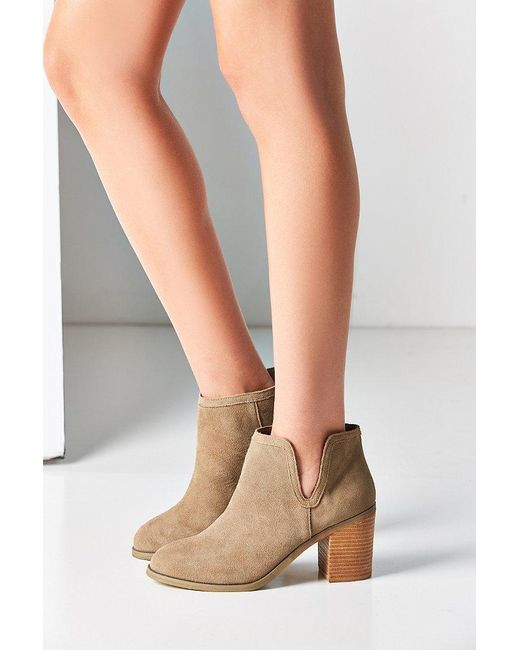 Urban Outfitters | Brown Maude Suede Ankle Boot | Lyst