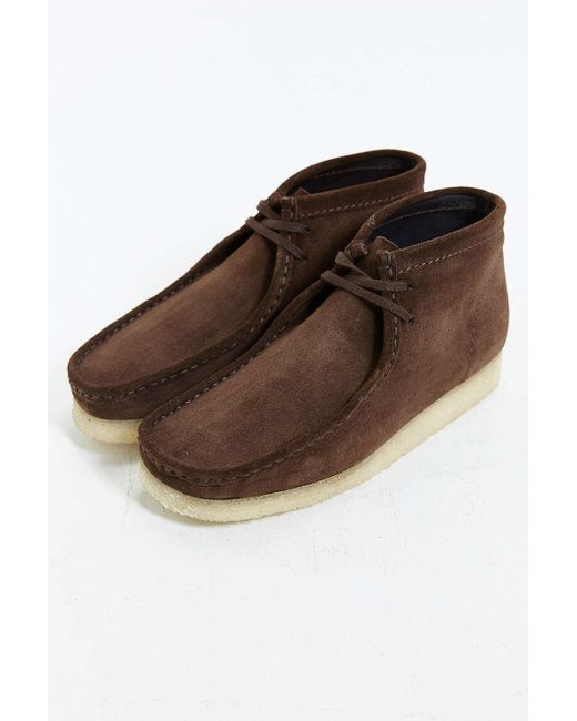 Clarks | Brown Wallabee Suede Boot for Men | Lyst